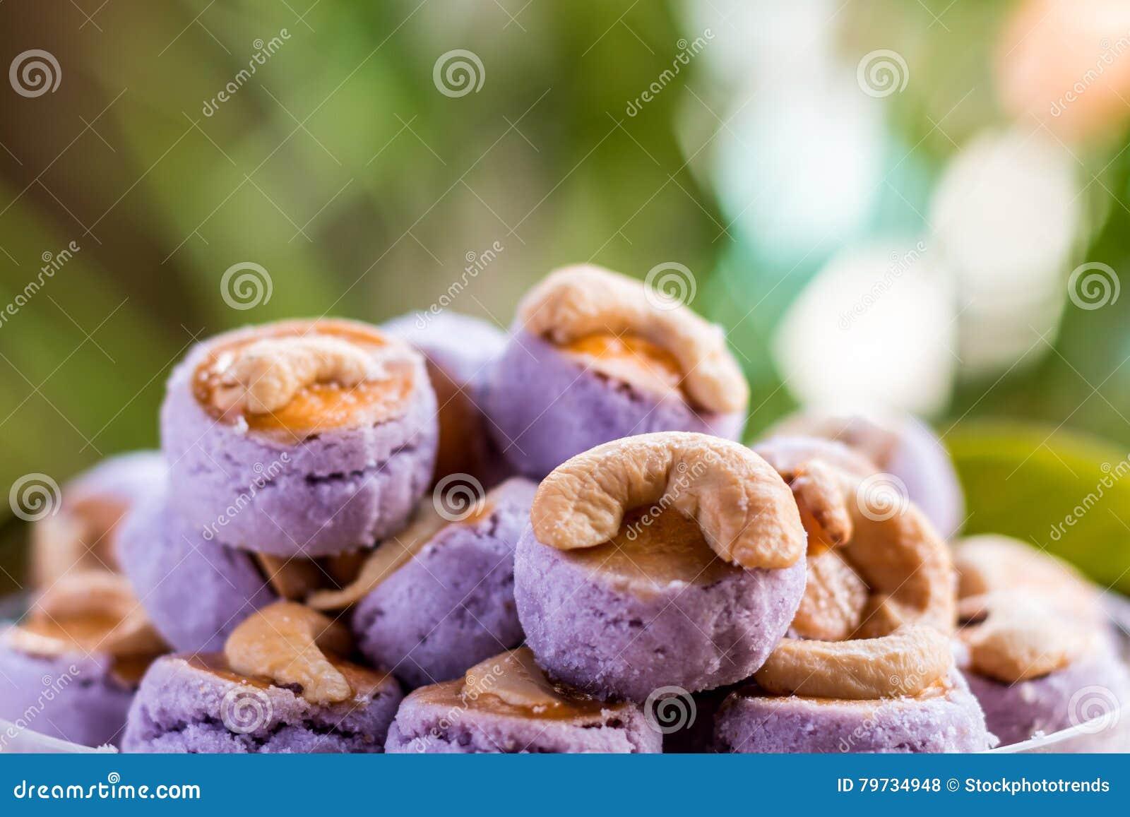 Galletas del anacardo