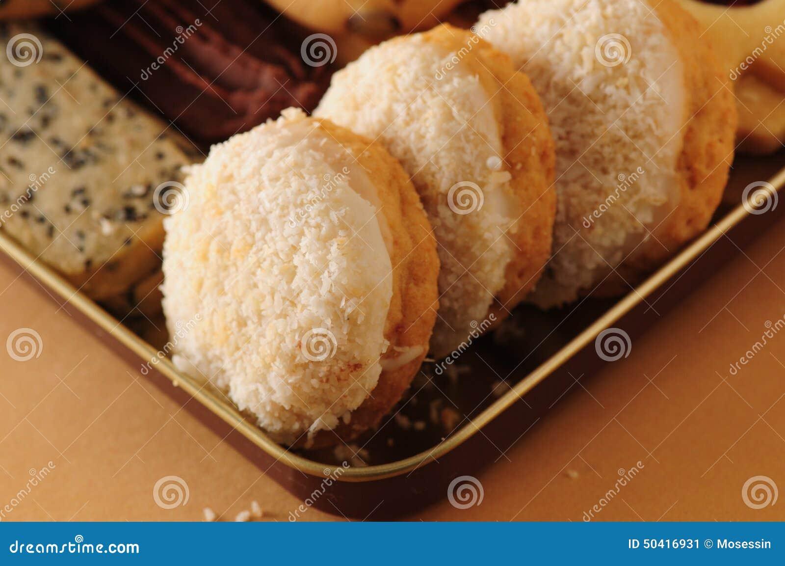 Galletas del coco