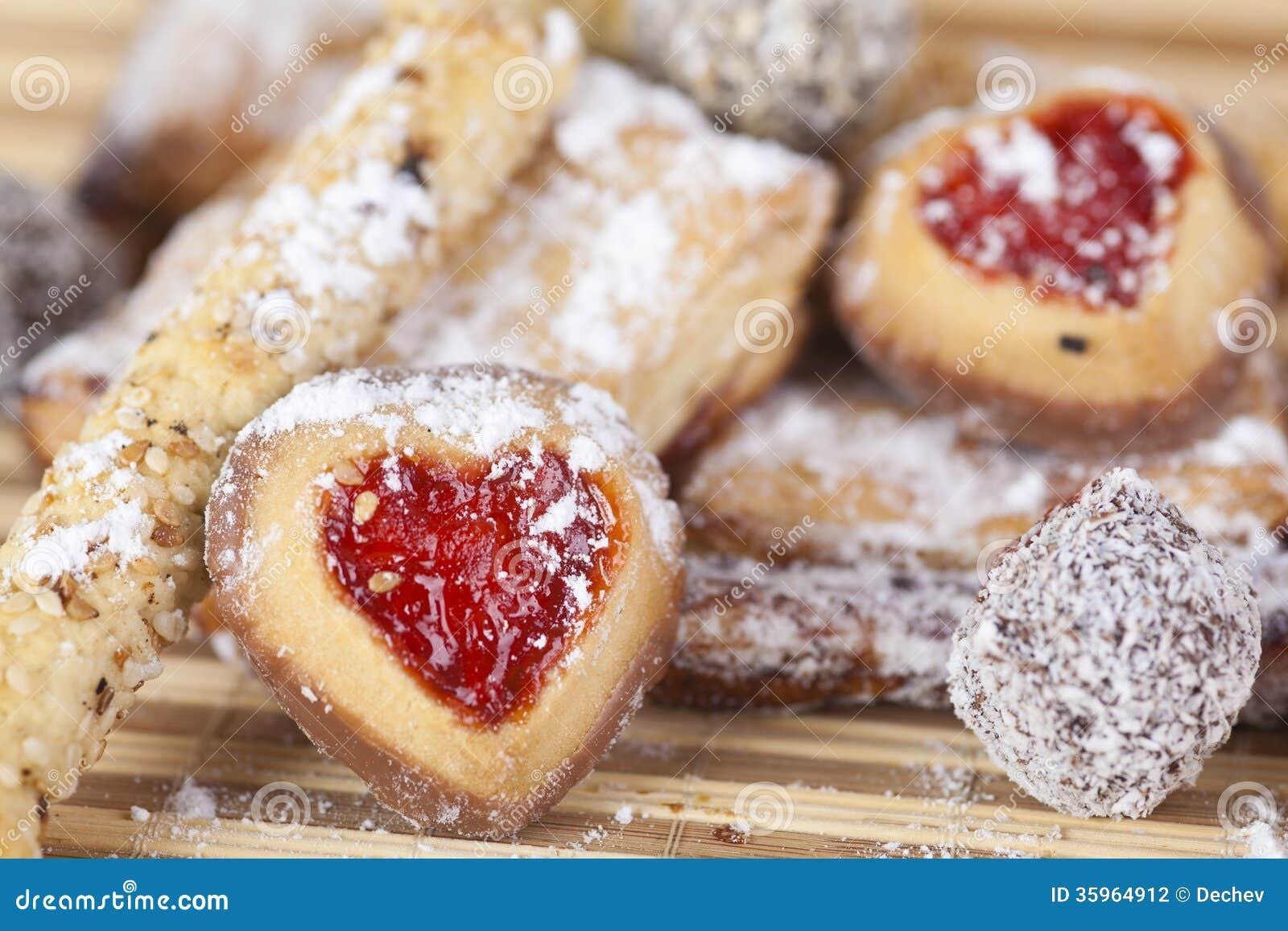 Galletas hechas en casa, dulces