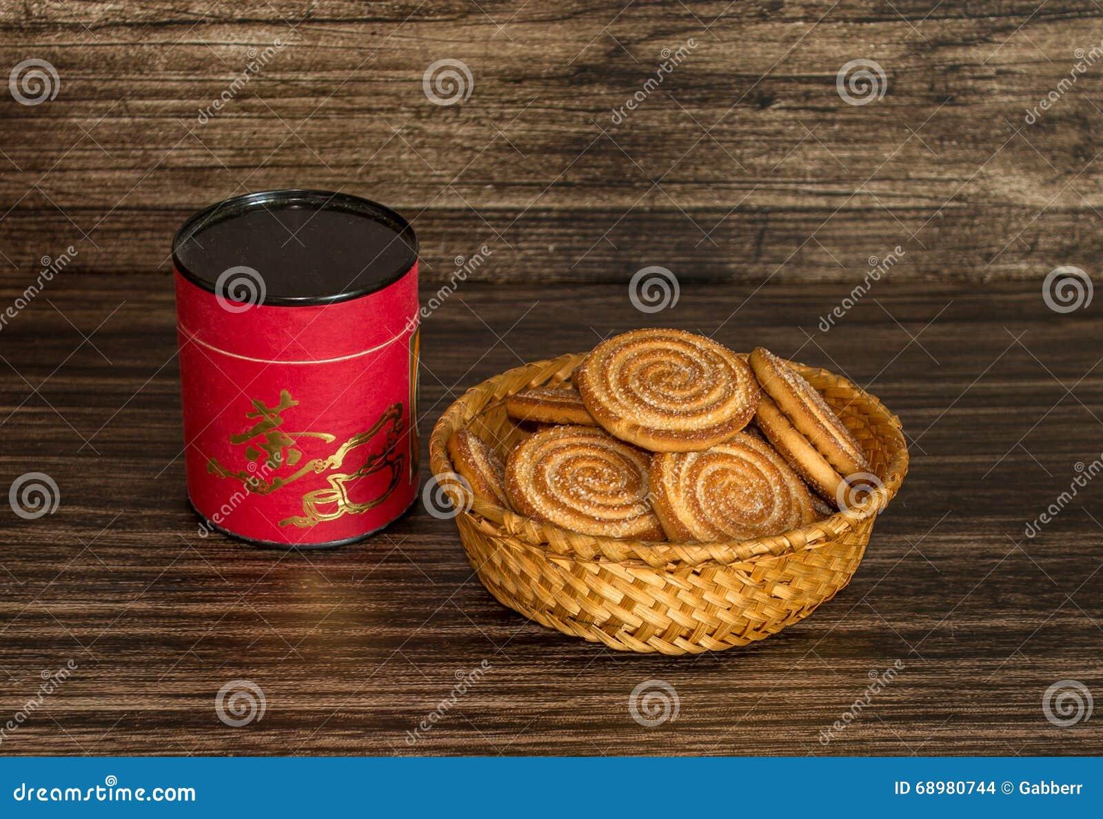 Galletas y té
