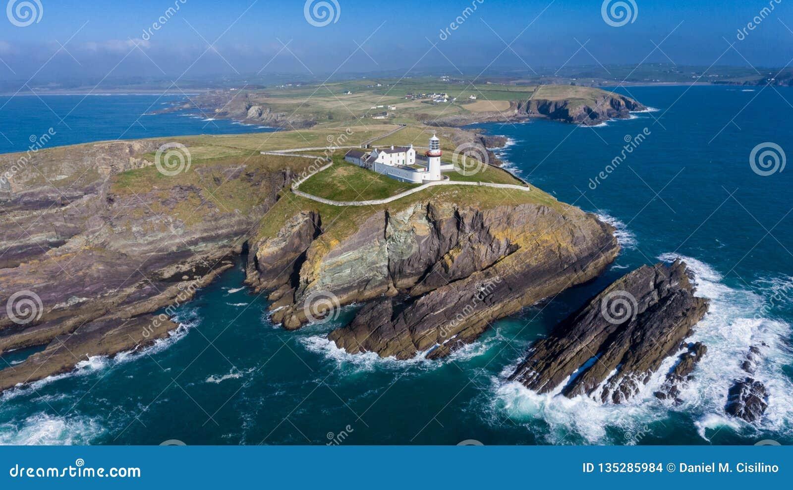 Galley head lighthouse. county Cork. Ireland