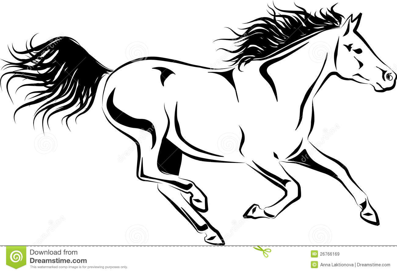 galloping horse royalty free stock images  image 26766169