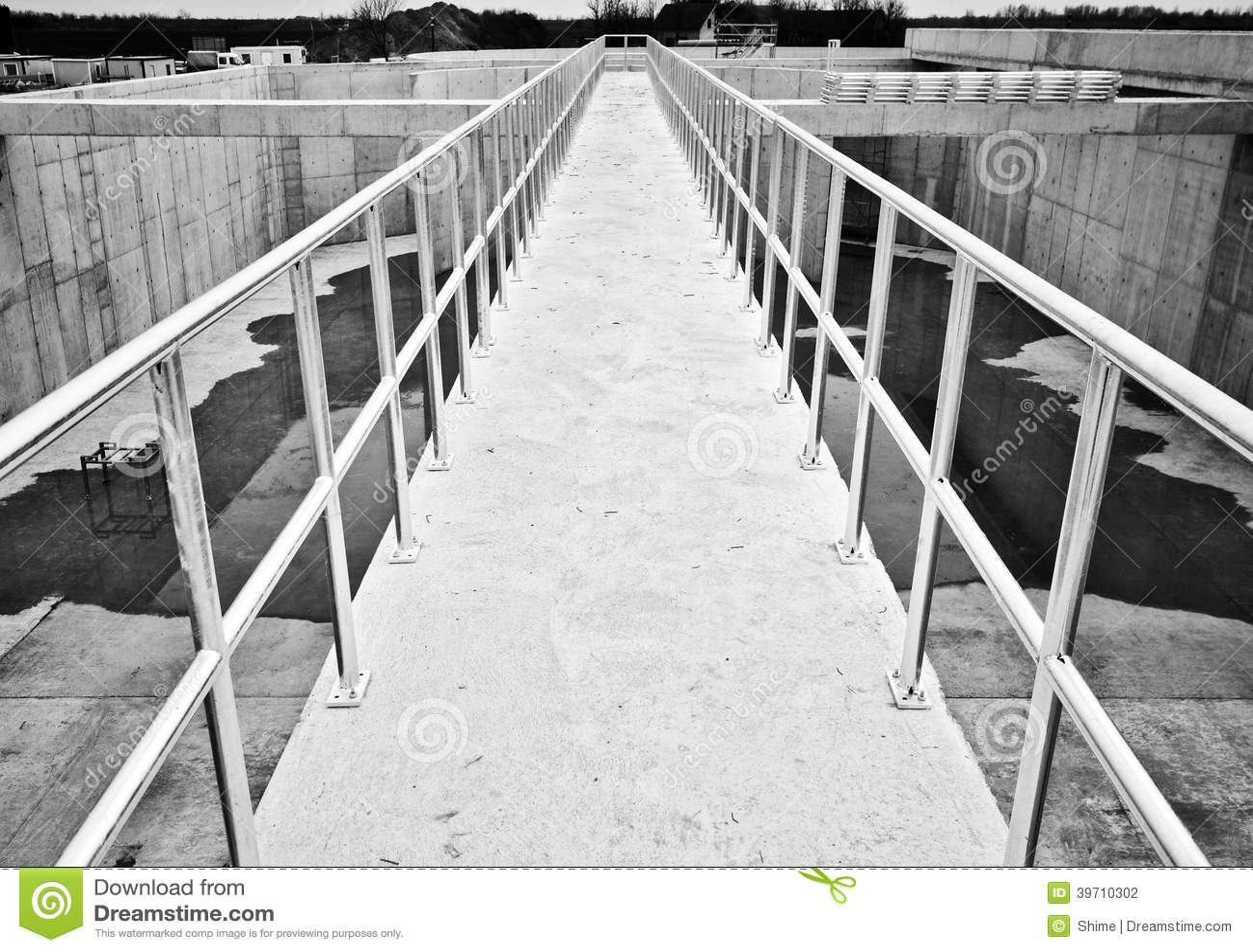 Galvaniserat Staket Arkivfoto - Bild: 39710302