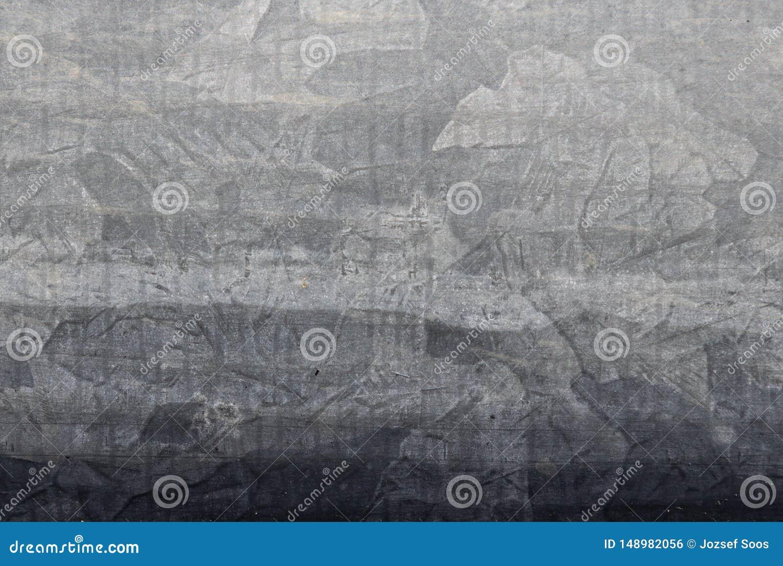 Galvanisierte Metallrohrnahaufnahme-Oberflächenbeschaffenheit