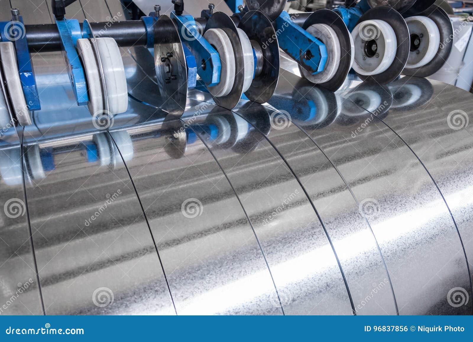 Galvanisierte Stahlstreifen