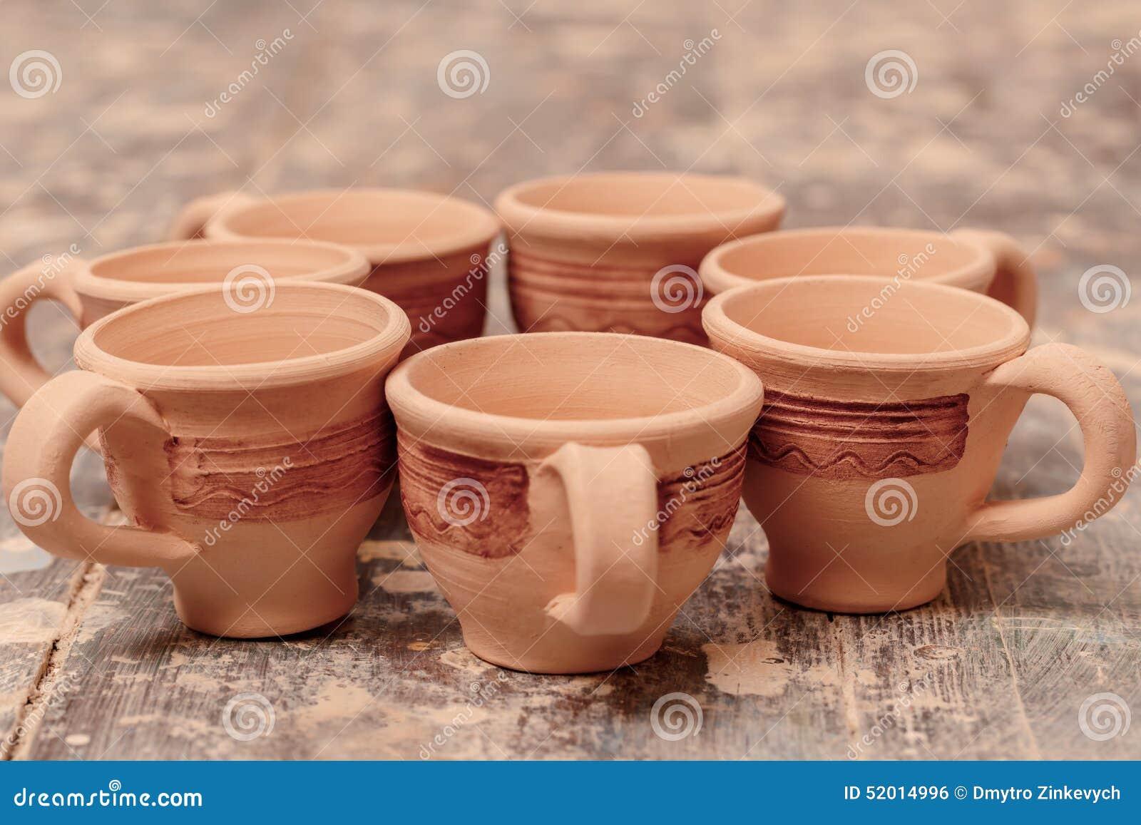 Gama de cer mica de la arcilla foto de archivo imagen for Arcilla para ceramica