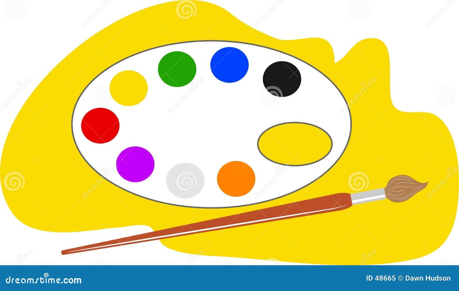 Gama de colores de los artistas