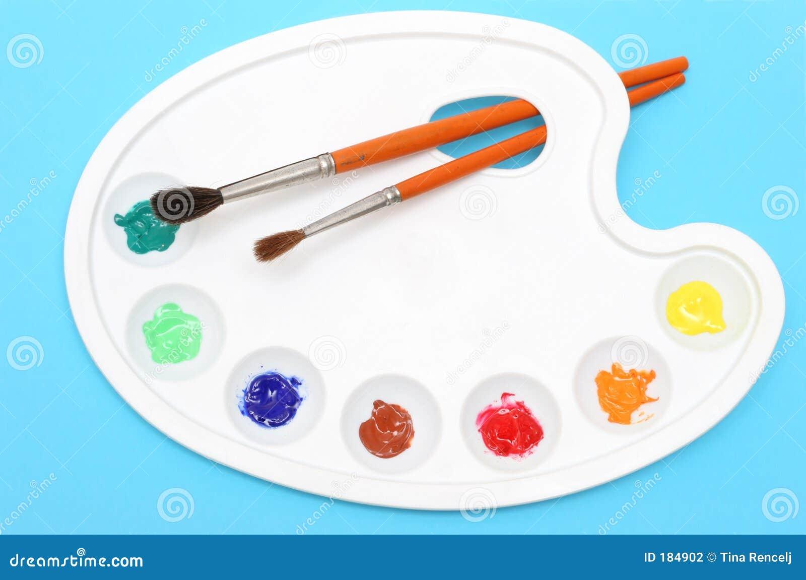 Gama de colores de los pintores