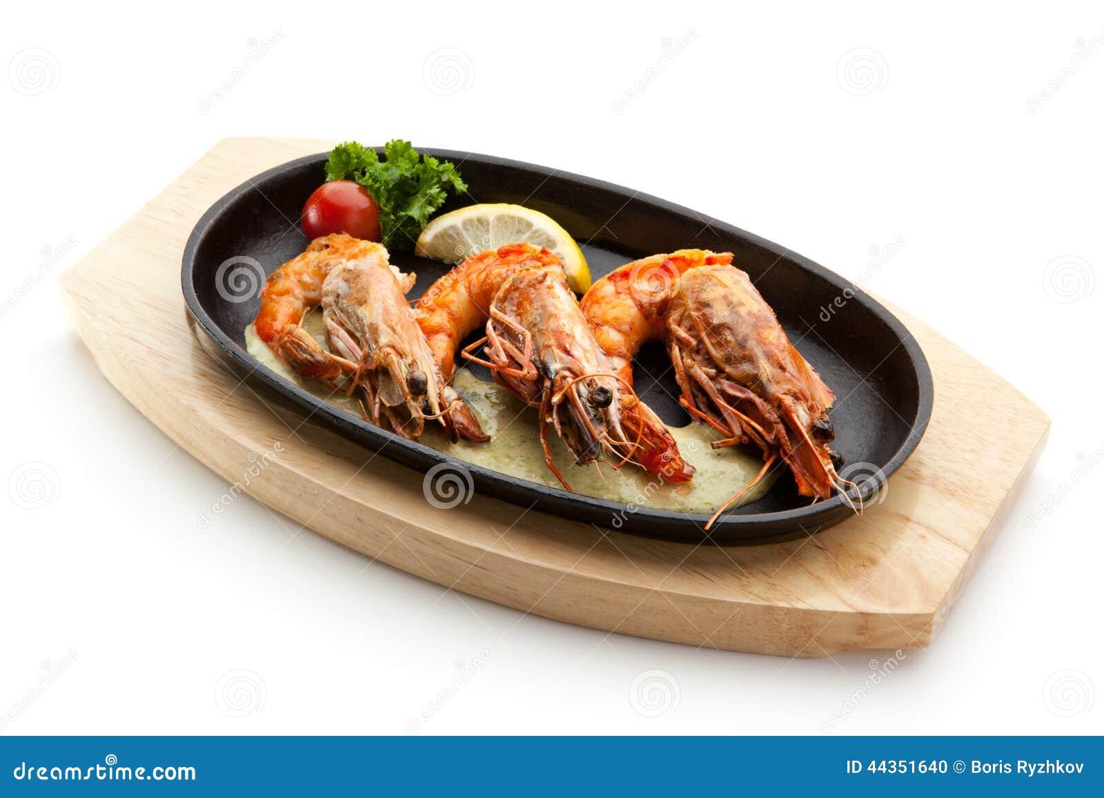 Gamberetti del BBQ