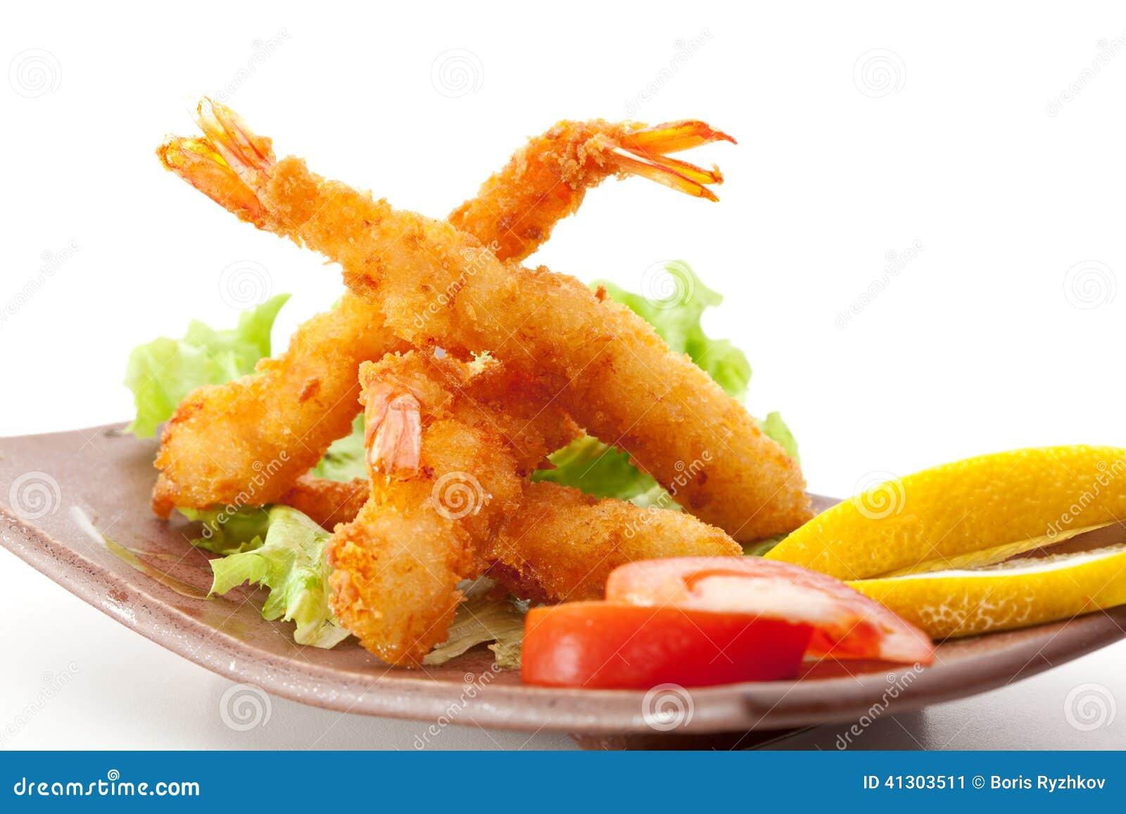 Gamberetti della tempura