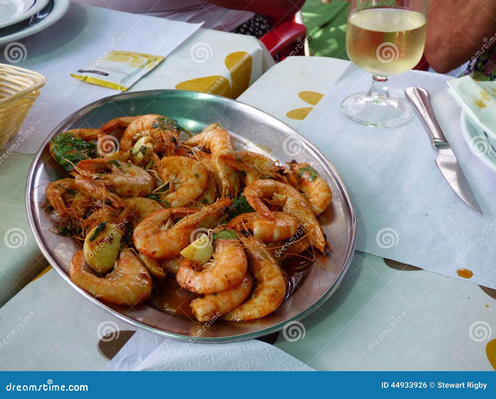 Gamberetti fritti Piri-Piri