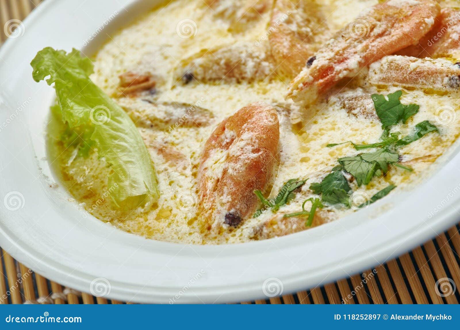 Gamberetto cremoso di Toscano del burro di aglio
