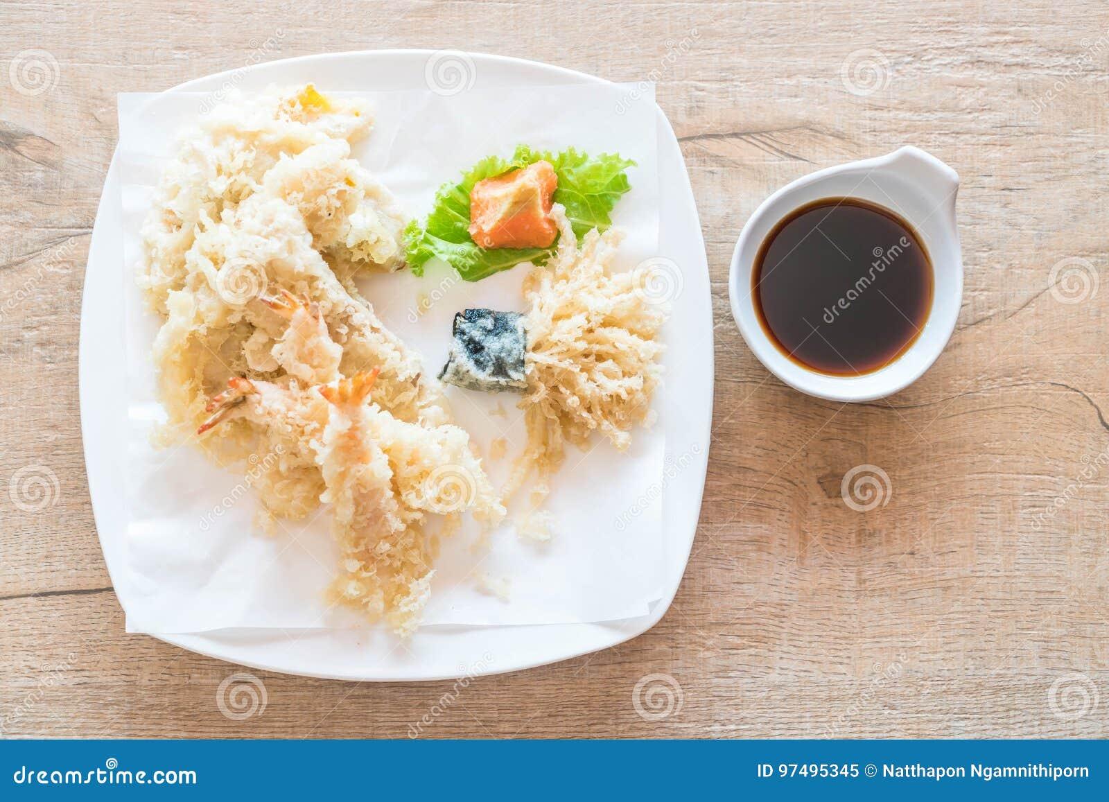 Gamberetto fritto (tempura)