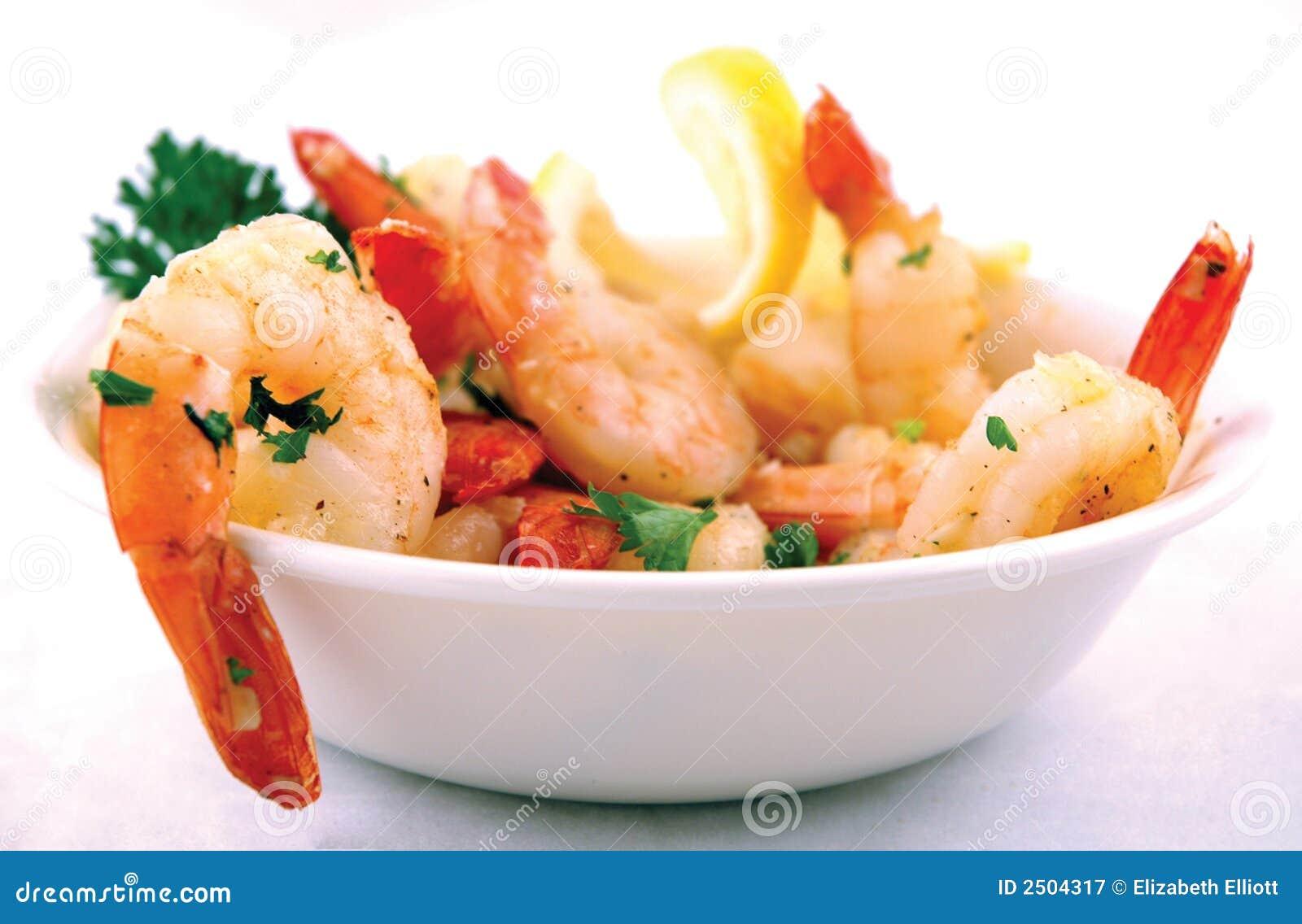 Gambero con aglio