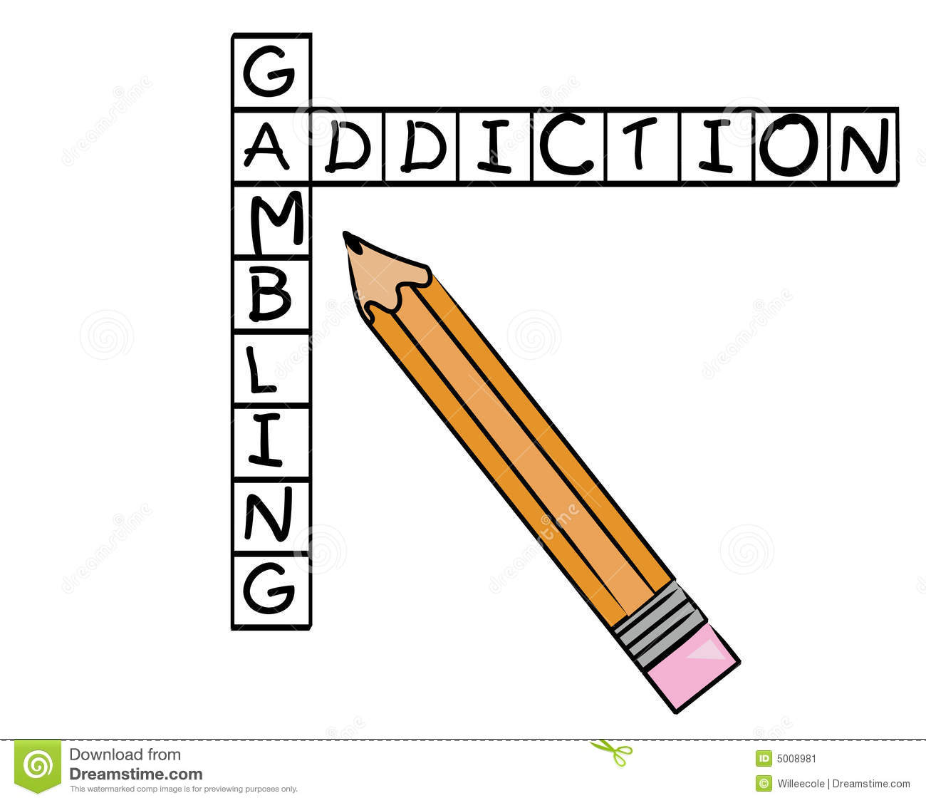 thesis statement for gambling addiction