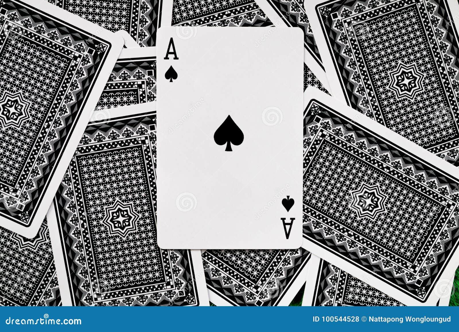 Gambling card.
