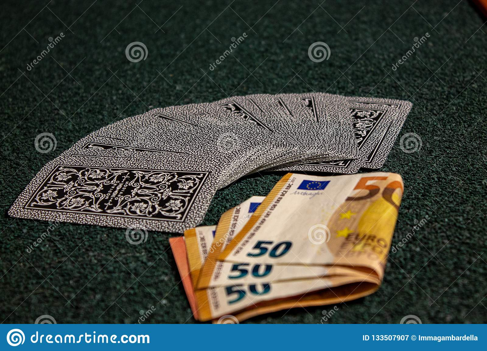 Gambling, with cards, money, or simply card game when the family is reunited.