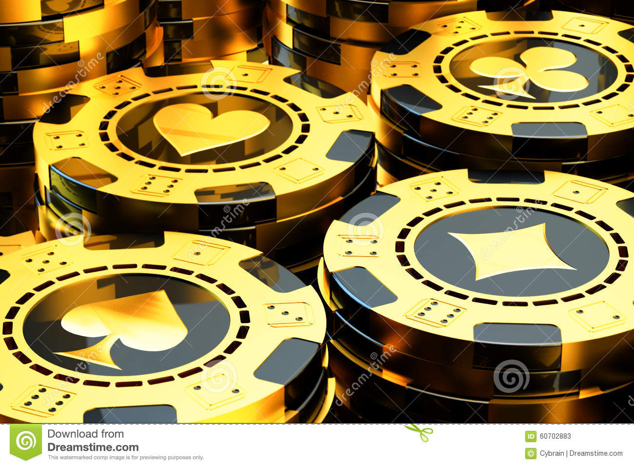 Gambling And Casino Concept Stock Illustration - Image