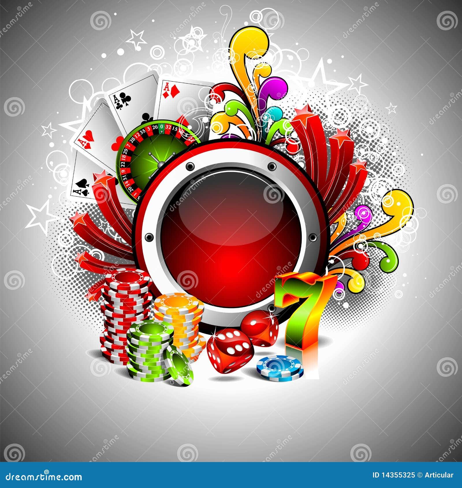 Gambling images royalty free