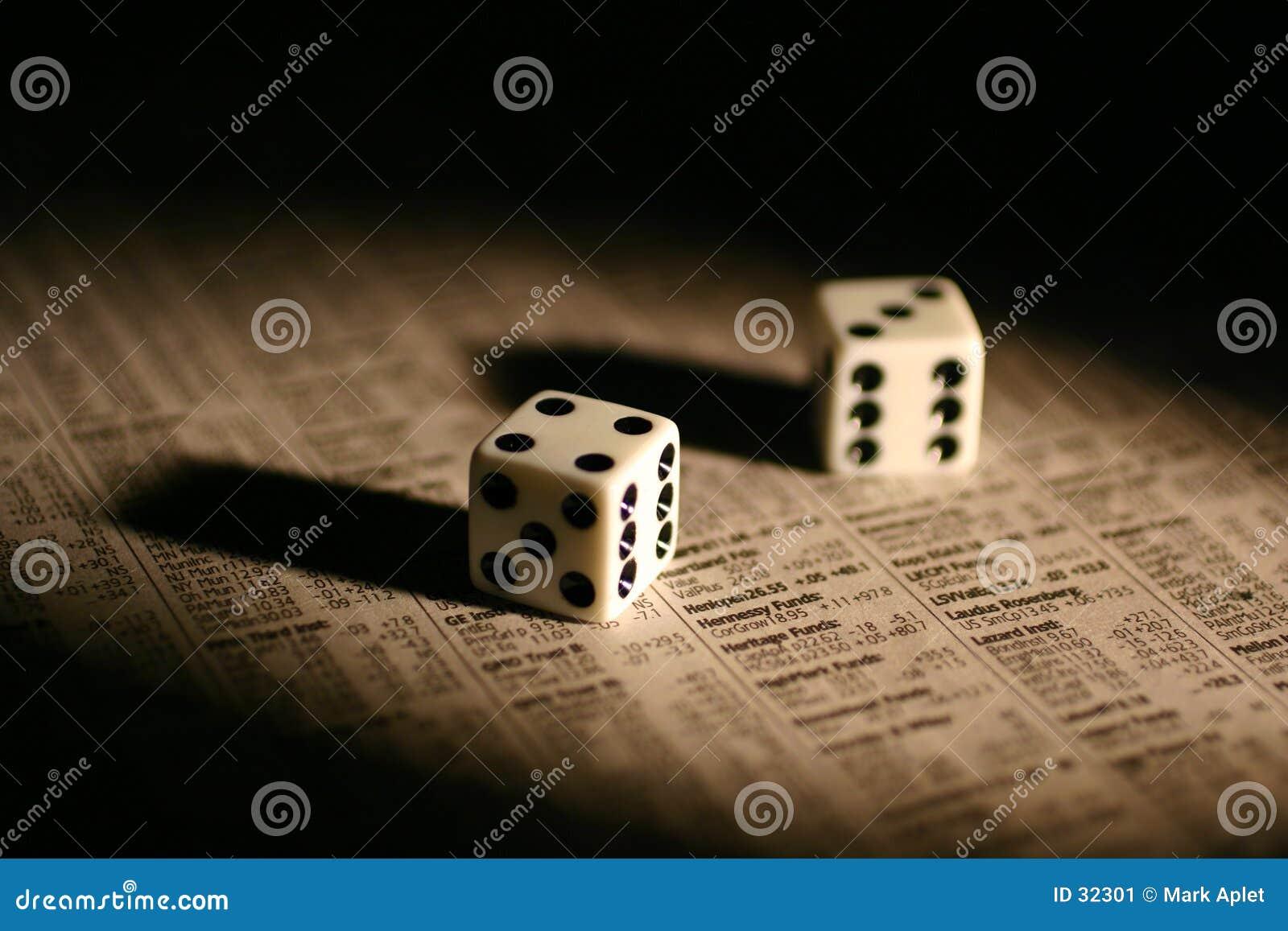 Gambling with stocks