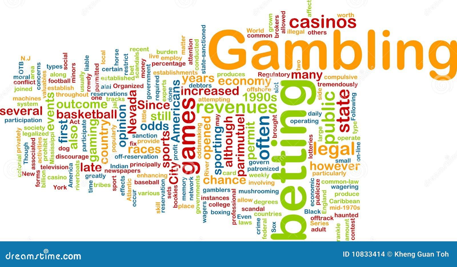 Word gambling