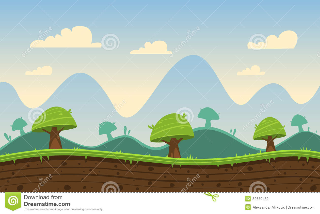 game cartoon background stock vector illustration of design 52680480
