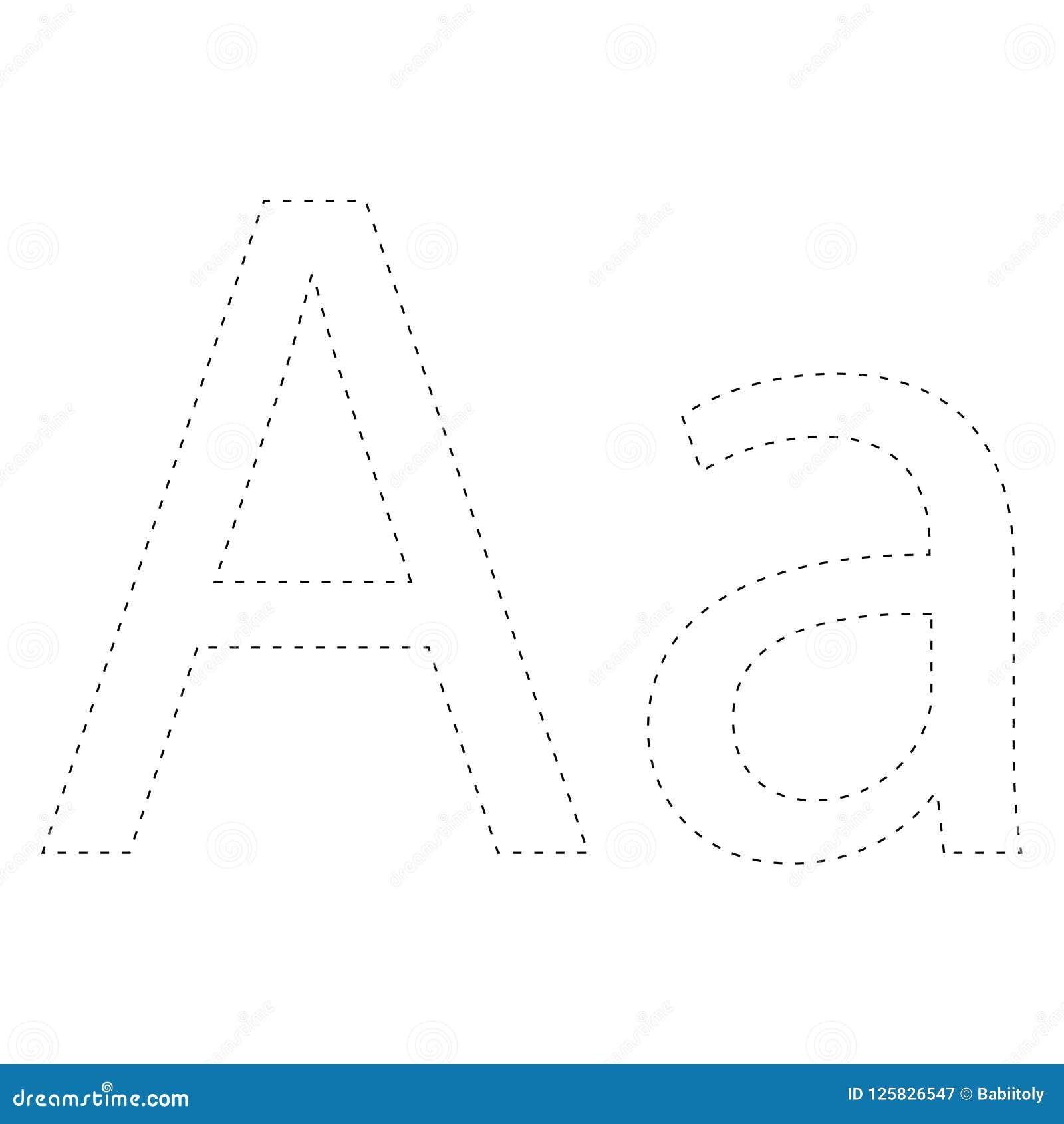 Learning Alphabet, Letter. Worksheet. Learning Alphabet ...