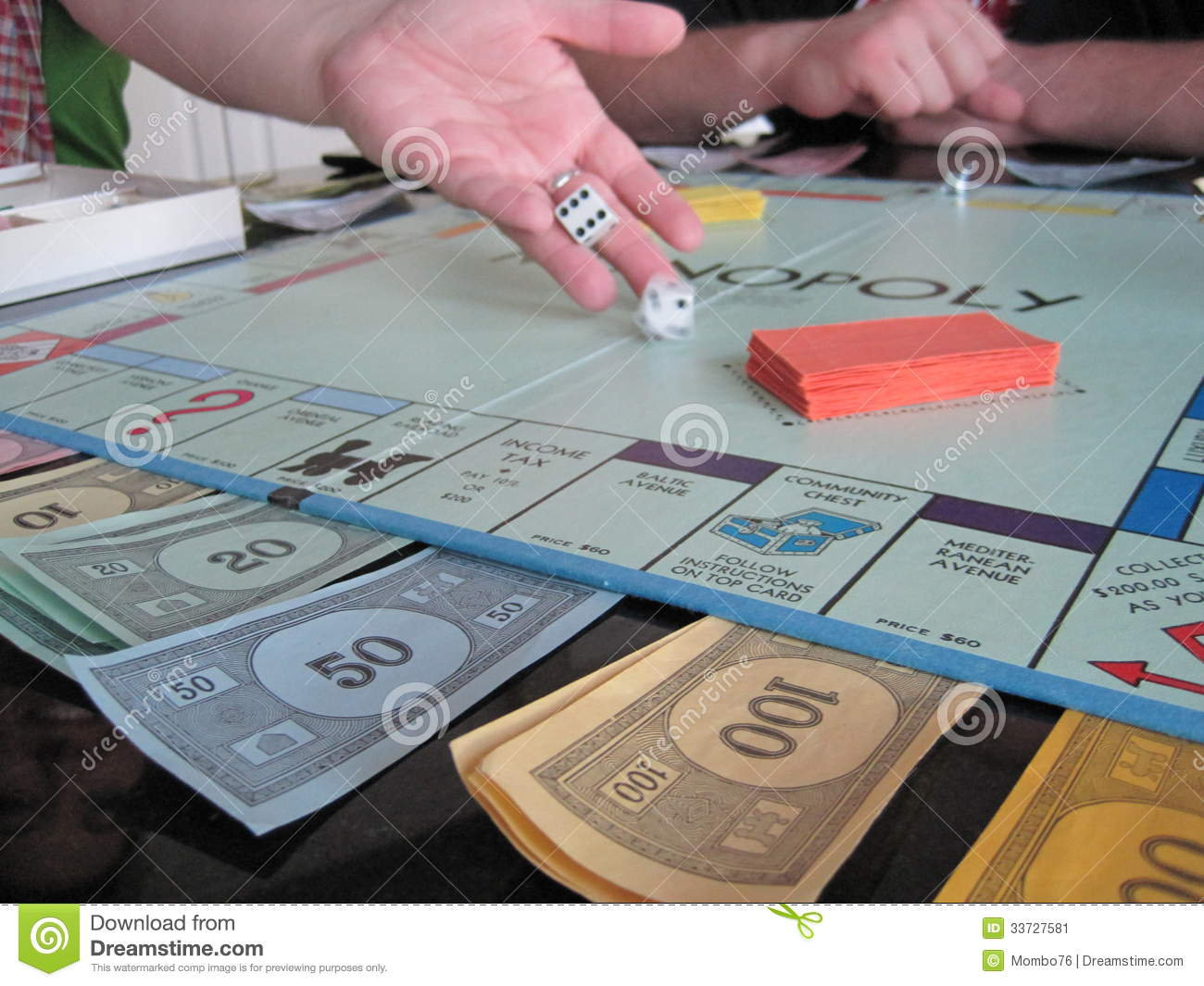 Game Of Monopoly Editorial Photo - Image: 33727581