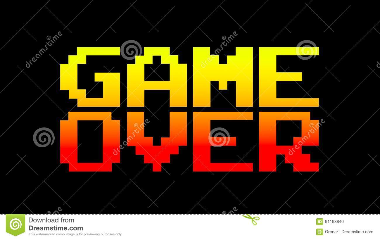 Game over 8bit funky