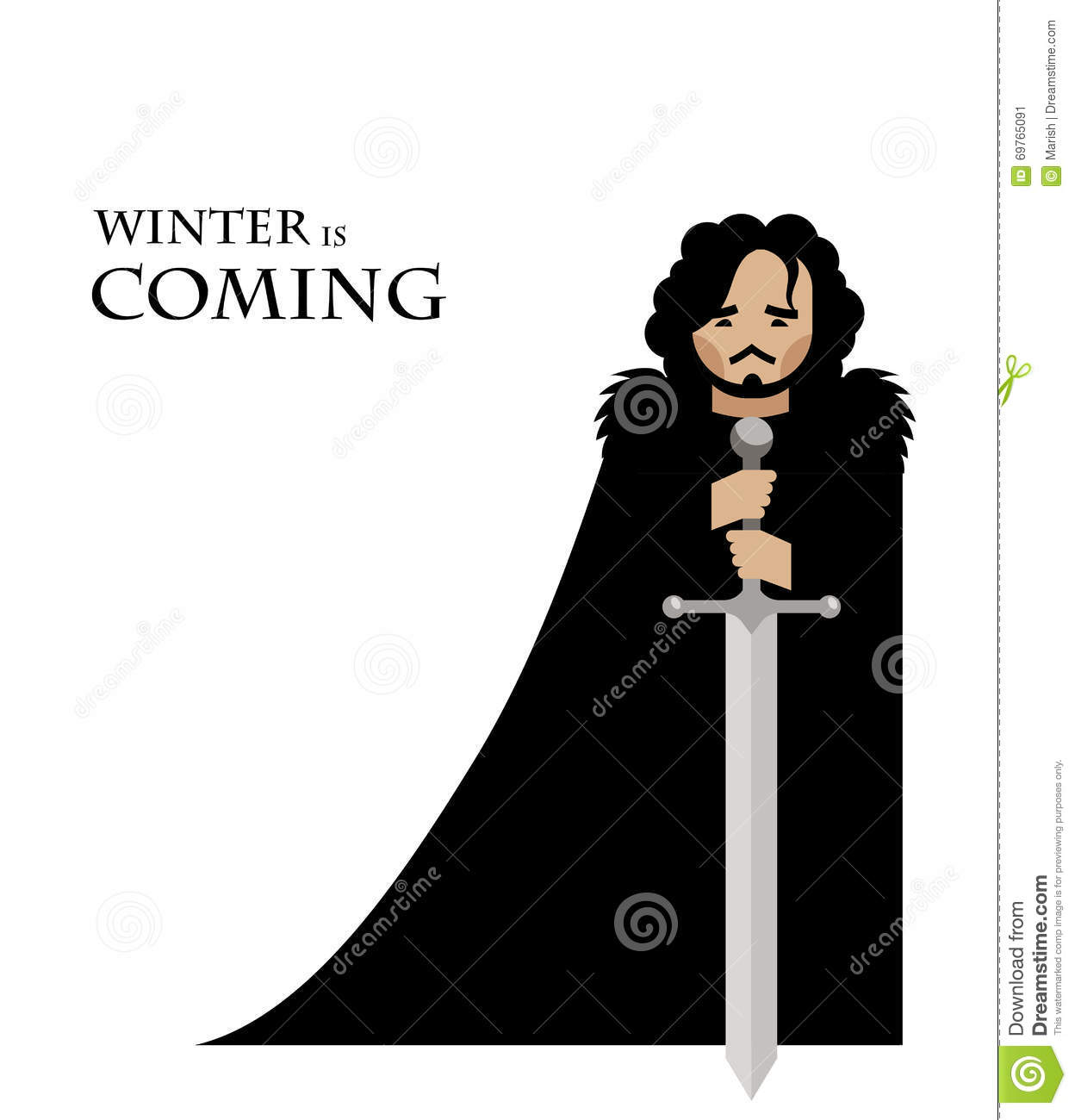 Game Of Thrones Characters Icons Emojis And Cartoon Stock