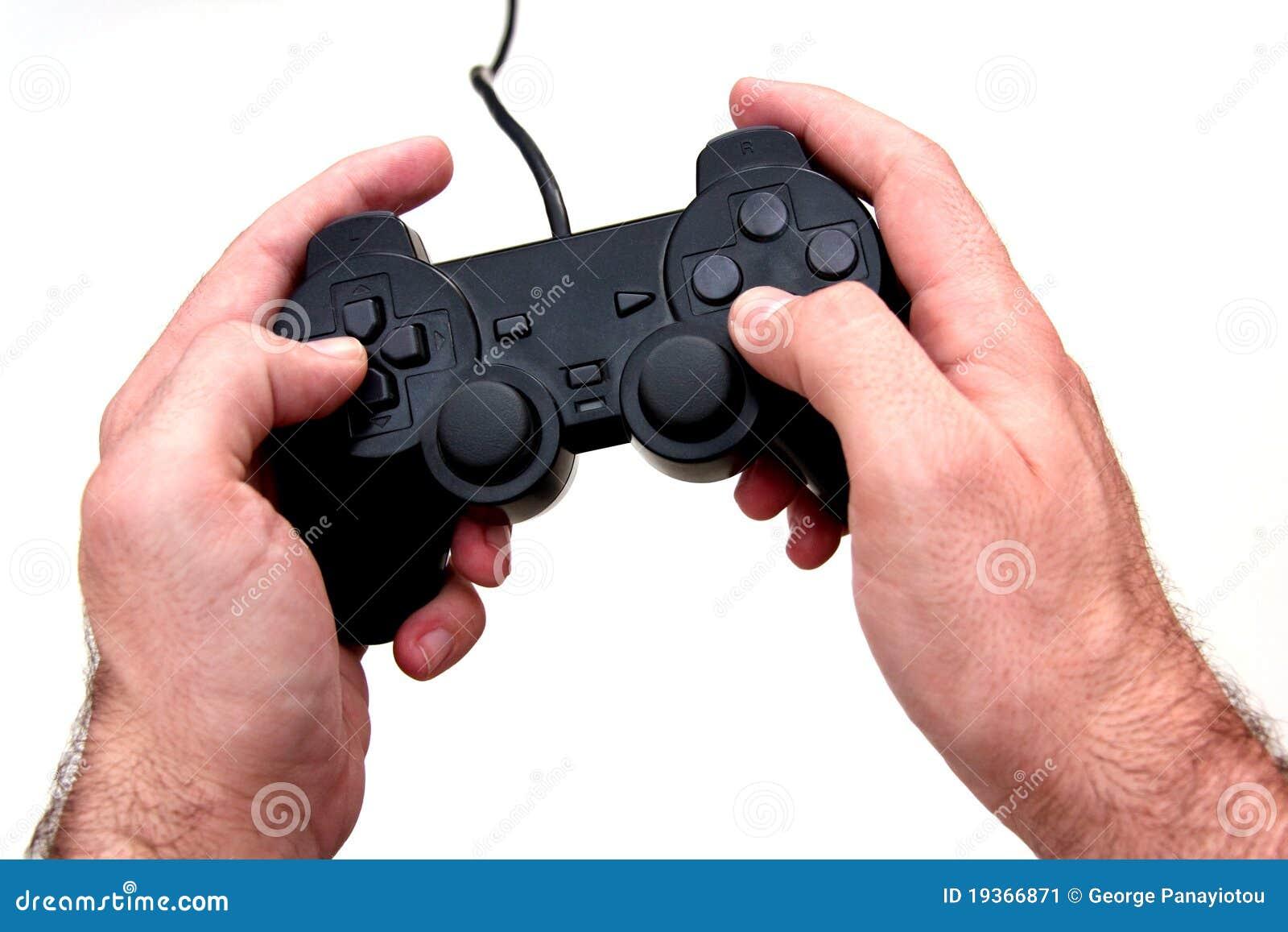 Gamepad do console do jogo