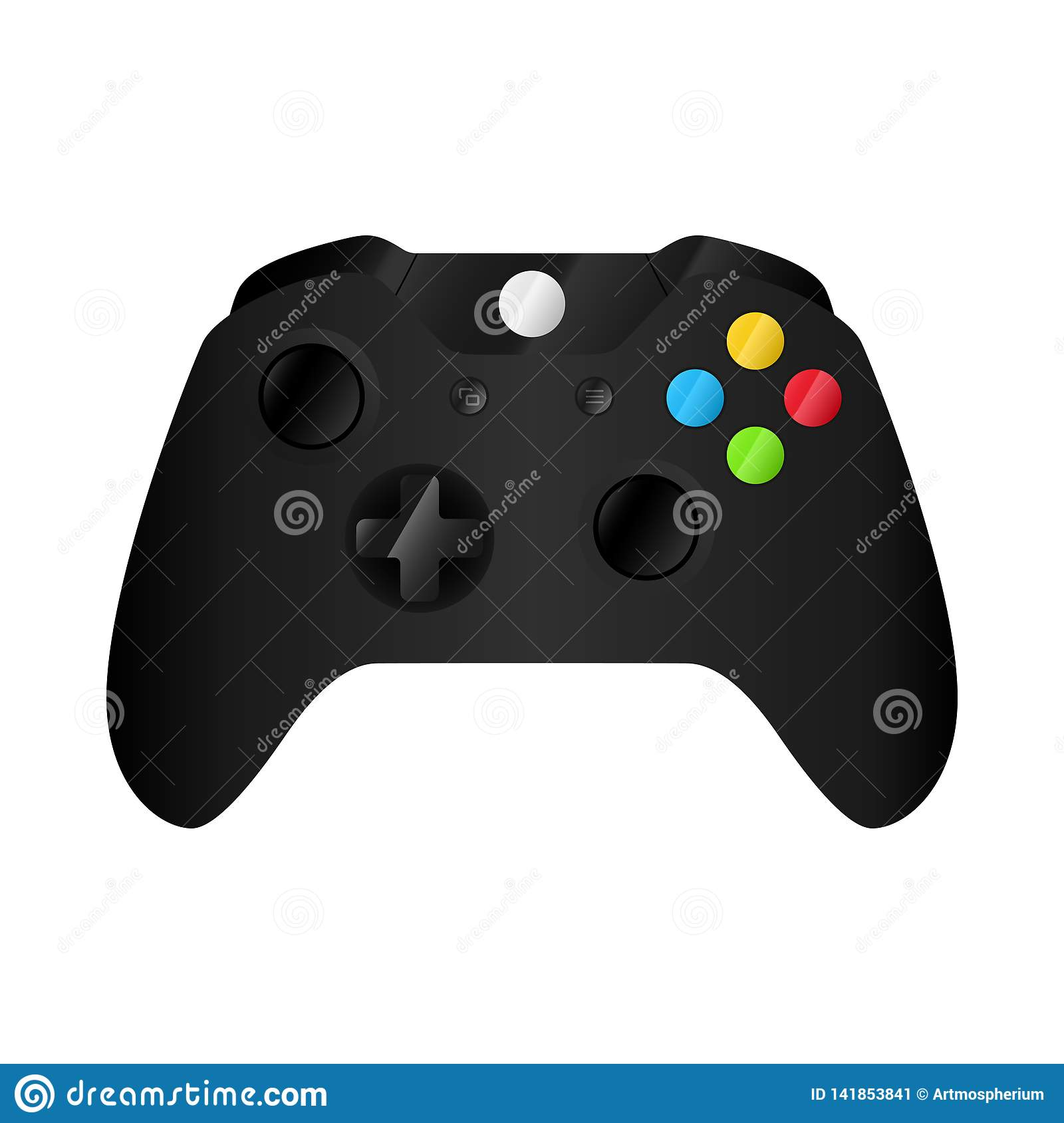 Gamepad ou rádio do controlador do joypad