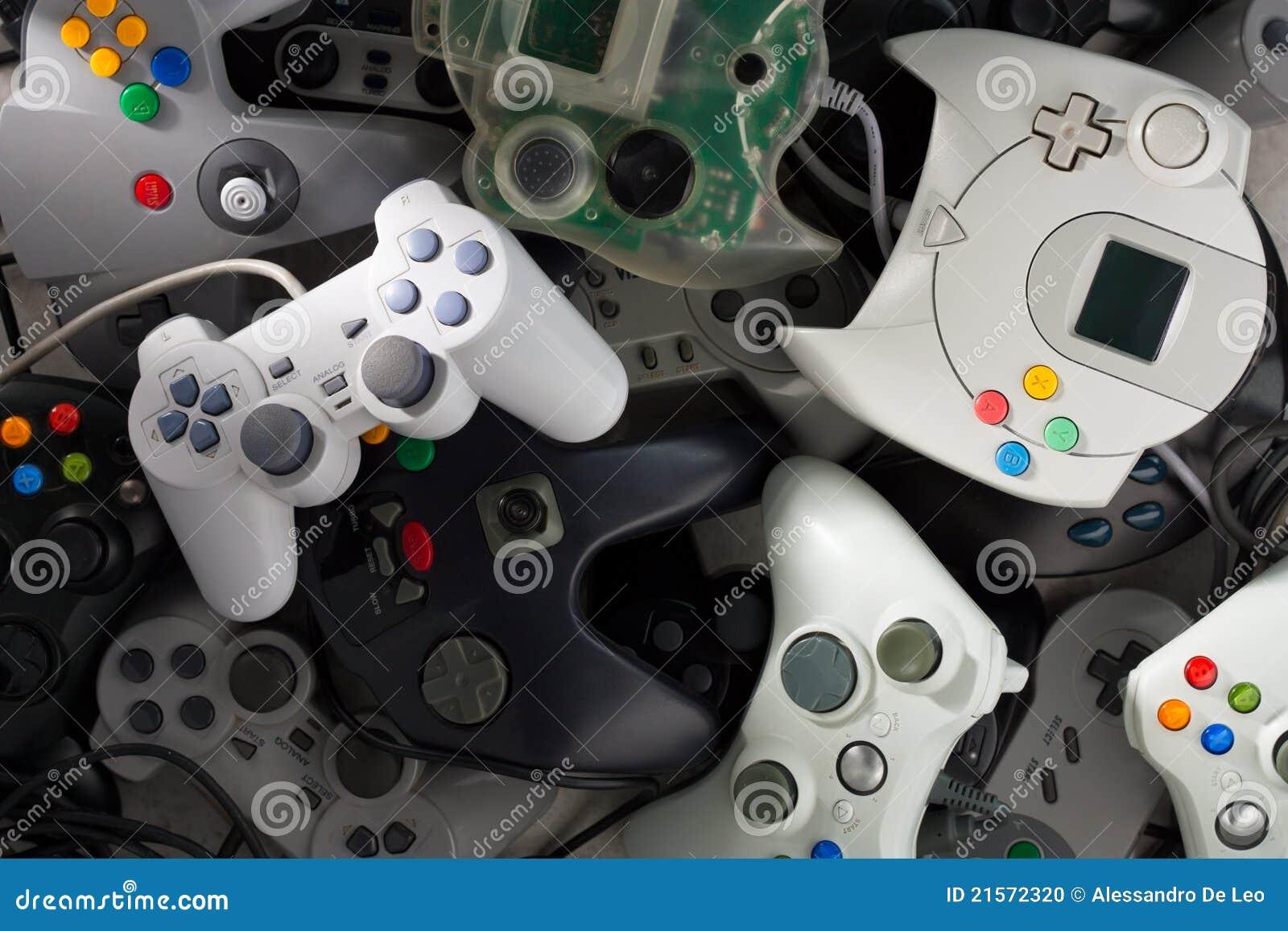 Gamepads Redaktionelles Bild Bild Von Elektronisch Horizontal