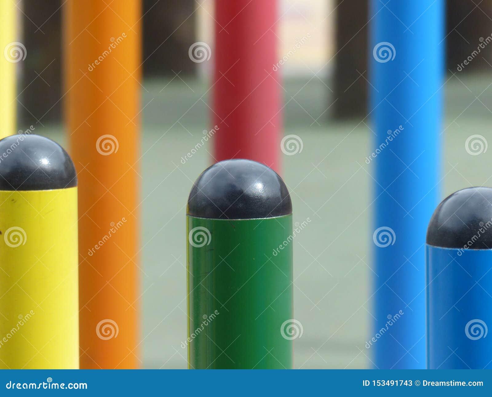 Games in children& x27;s playground