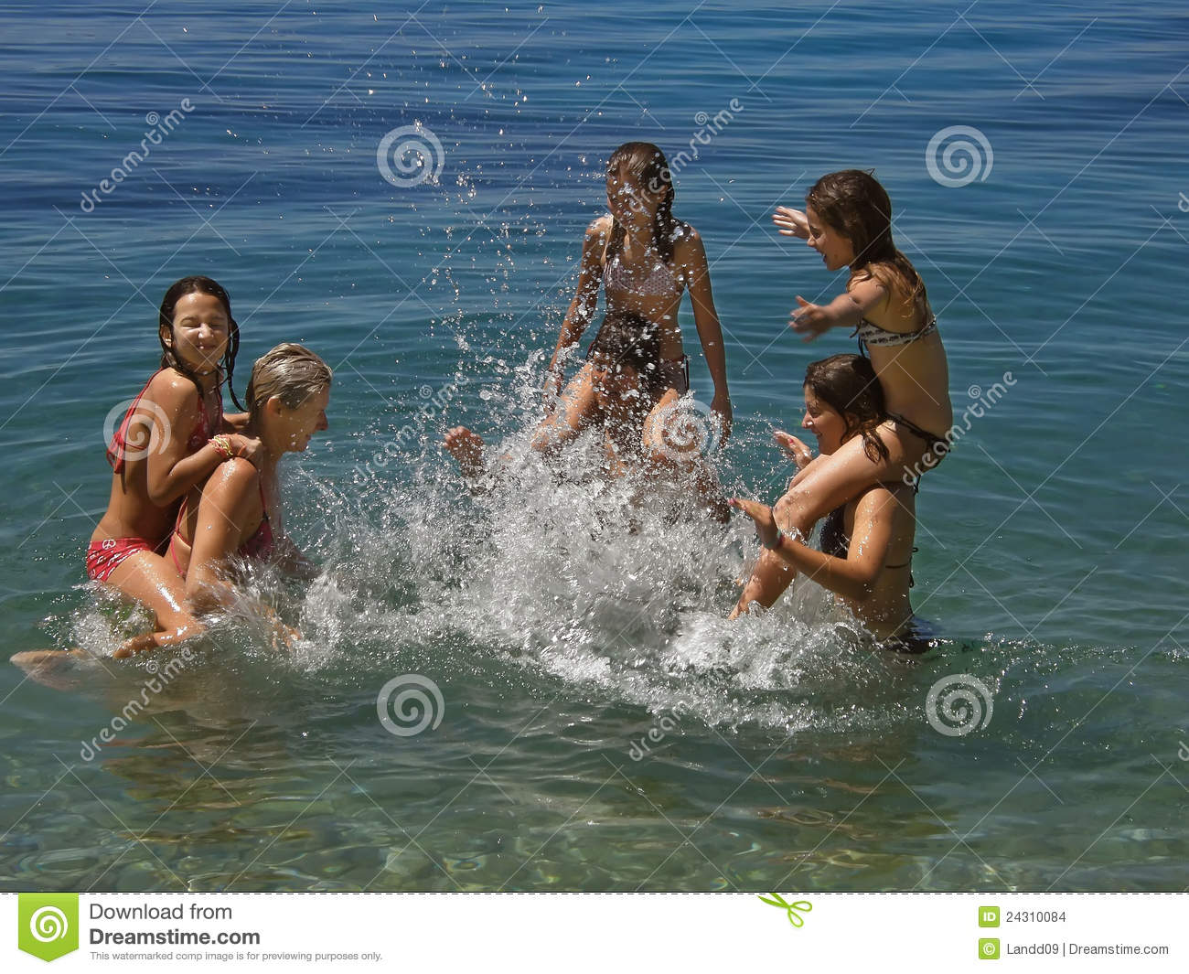 Download Games at sea 2 stock photo. Image of carefree, exotic - 24310084