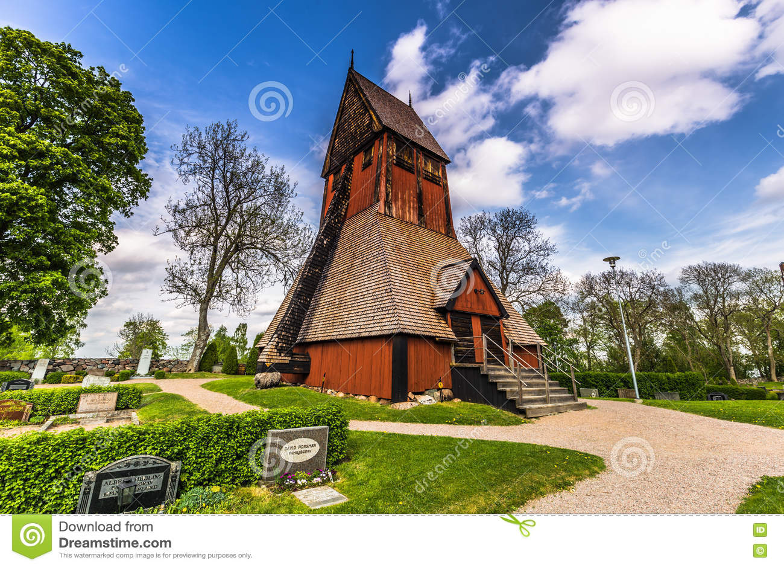 Gamla乌普萨拉,瑞典教会塔