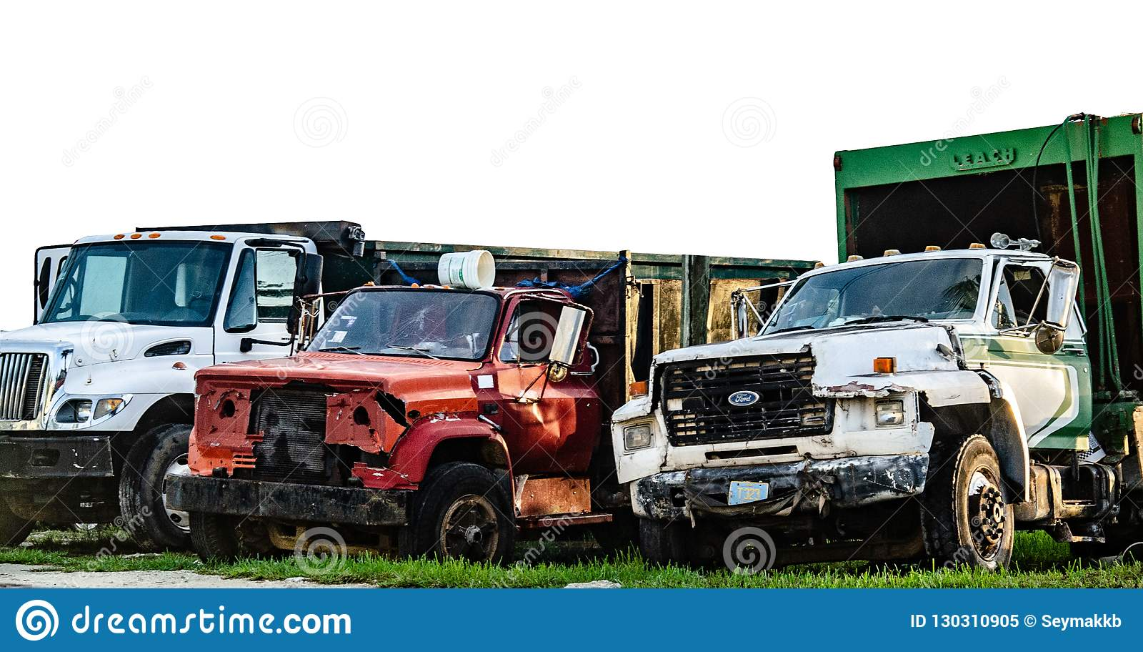 Gamla Ford Trucks