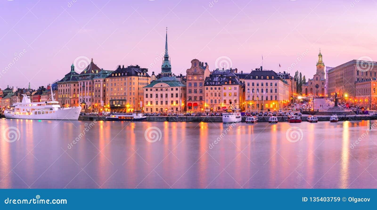 Gamla Stan en Estocolmo, Suecia