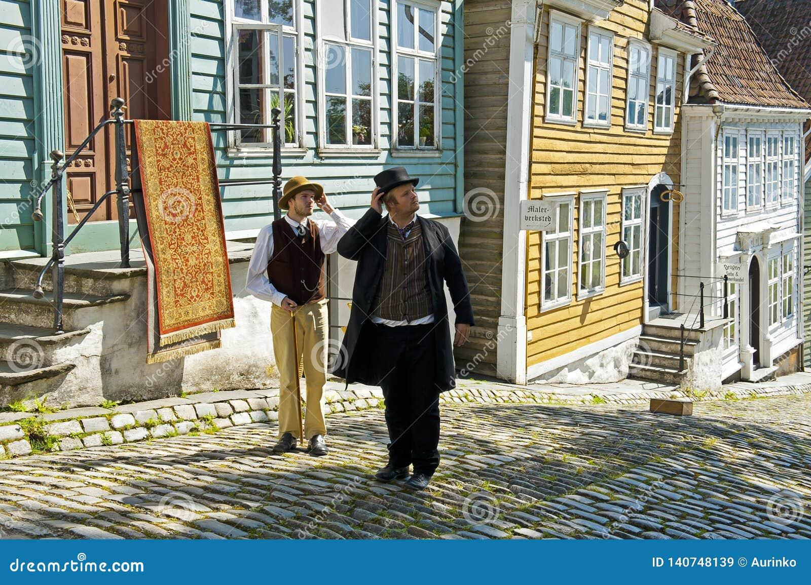 Gamle Bergen Stary muzeum - na wolnym powietrzu muzeum