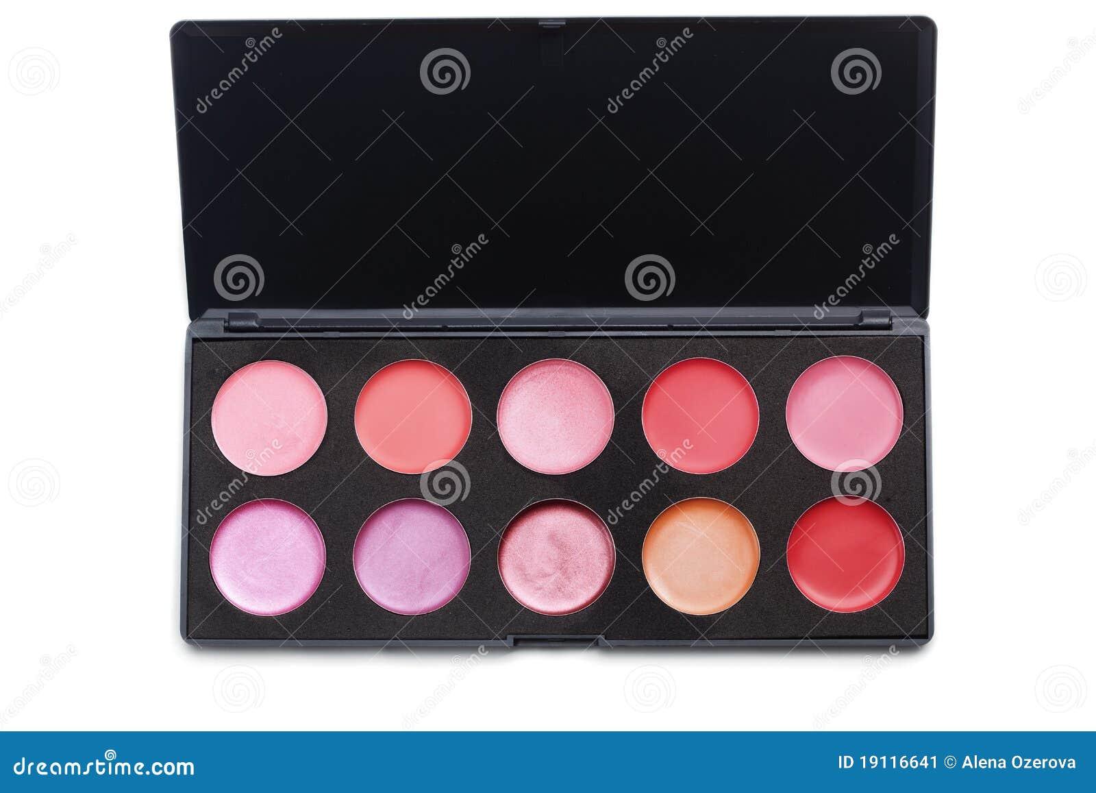 Gamma di colori del rossetto immagine stock immagine - Immagine del mouse a colori ...