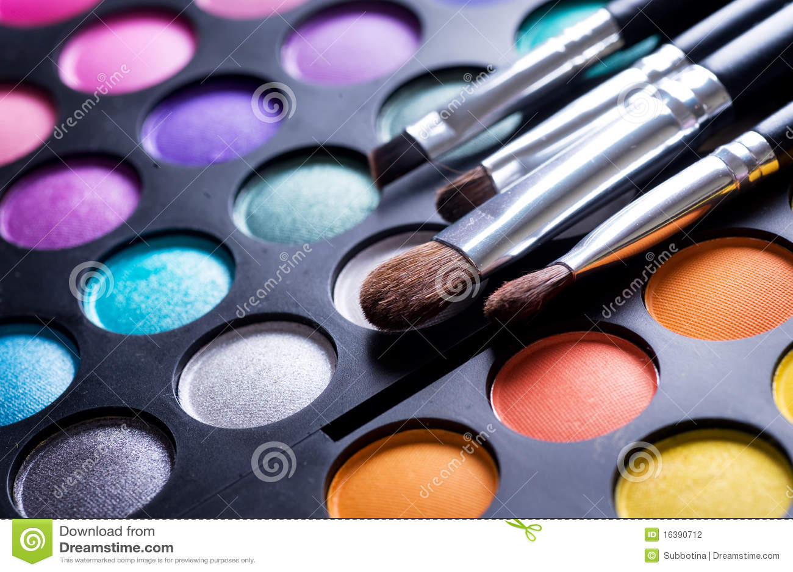 Gamma di colori di trucco