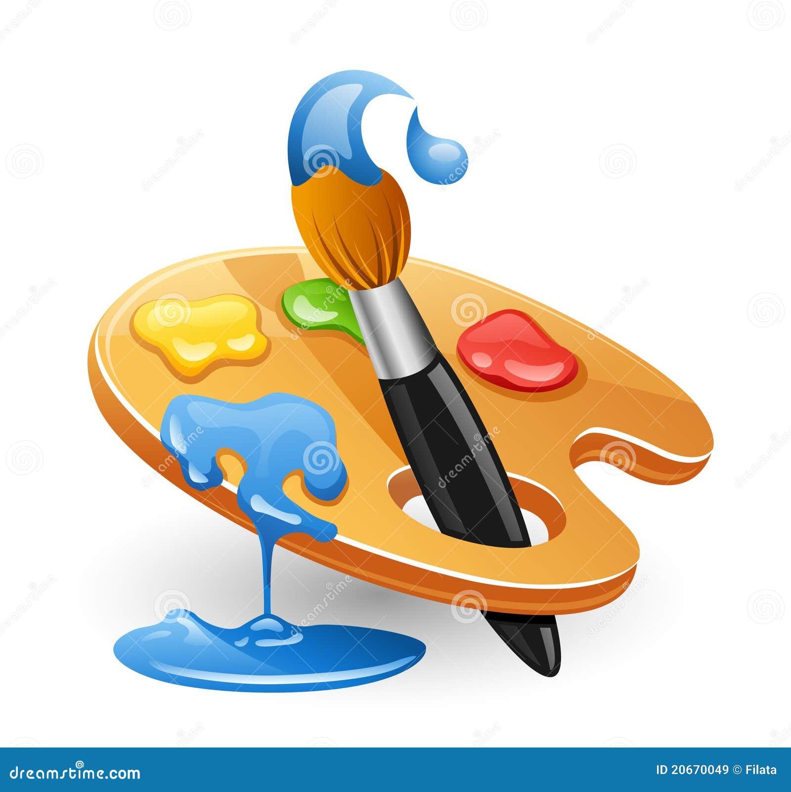 Paint Brush W Paint
