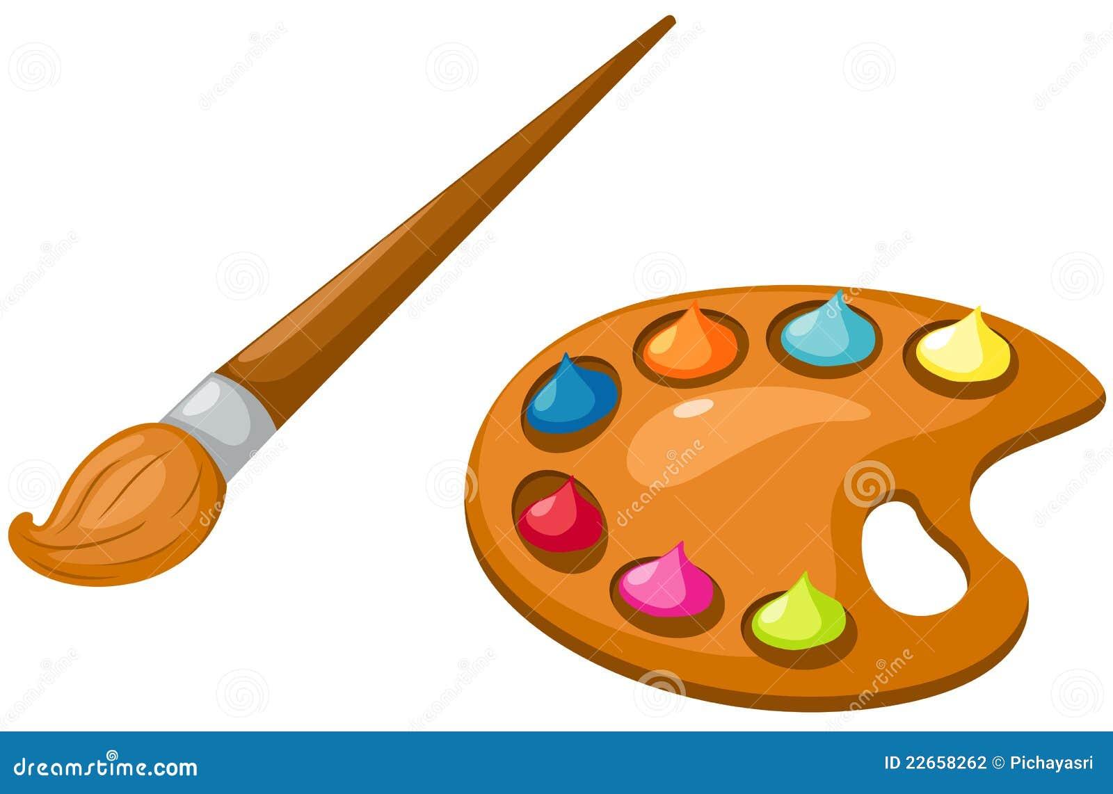 Gamma di colori e pennello illustrazione vettoriale - Immagini di tacchini a colori ...
