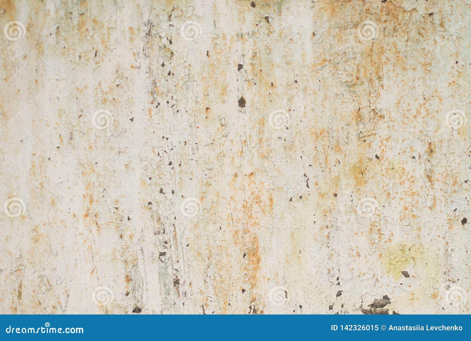 Gammal bakgrund och textur för metalljärnrost
