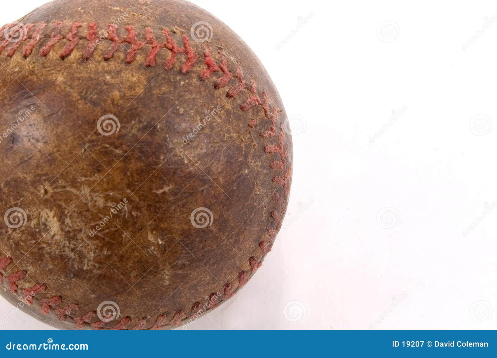 Gammal baseballdetalj