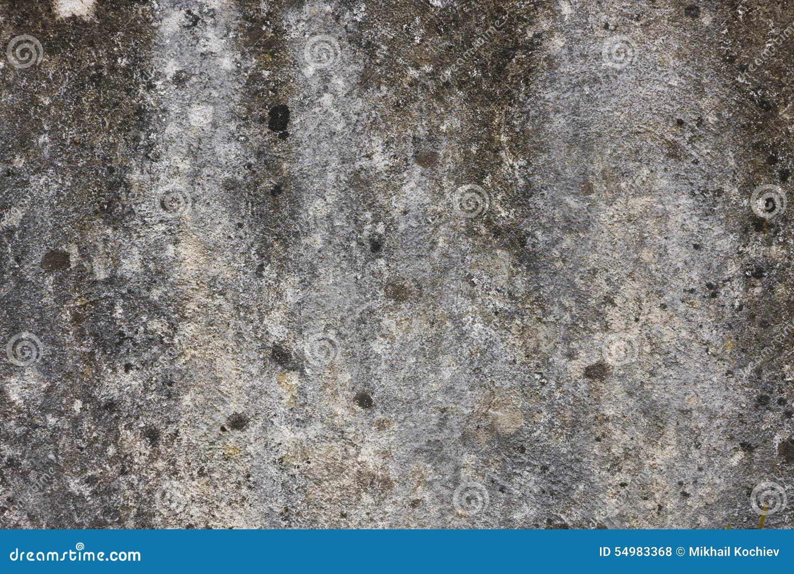 Gammal betongvägg