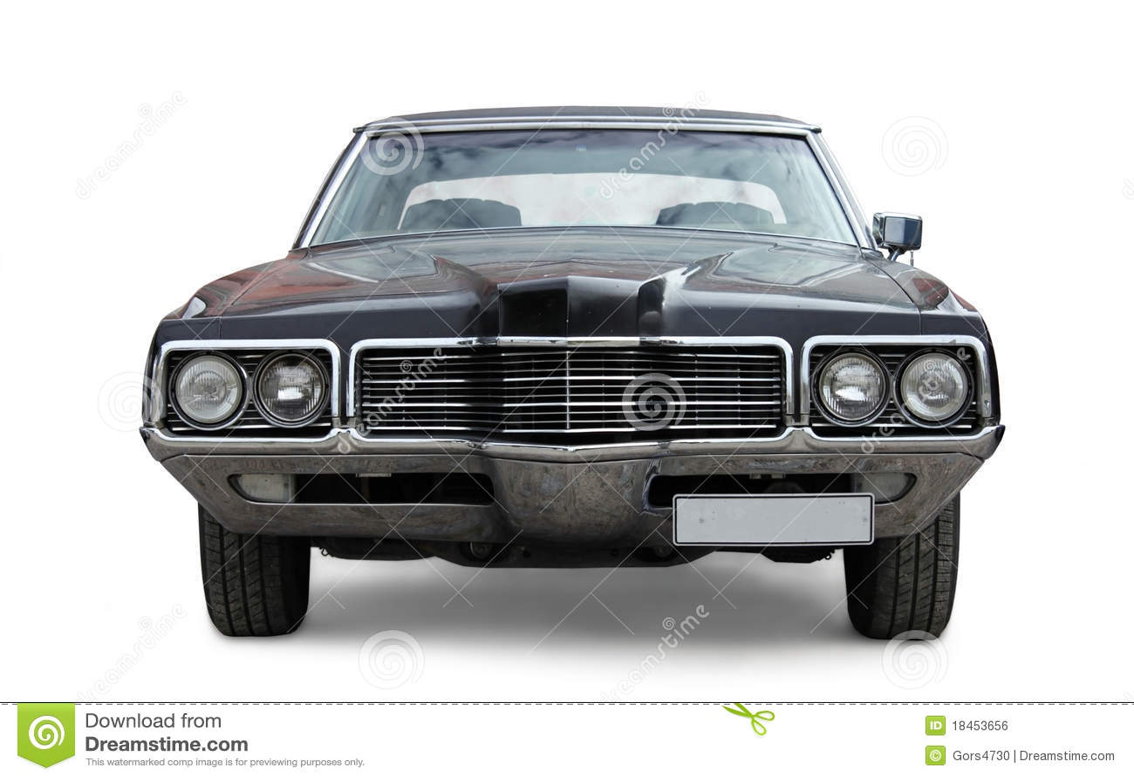 Gammal bil