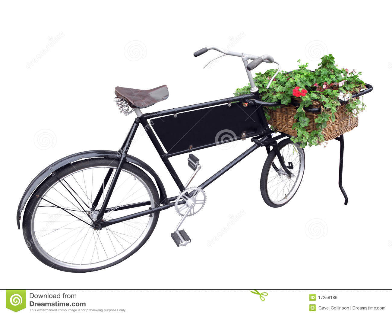 Gammal cykelleverans