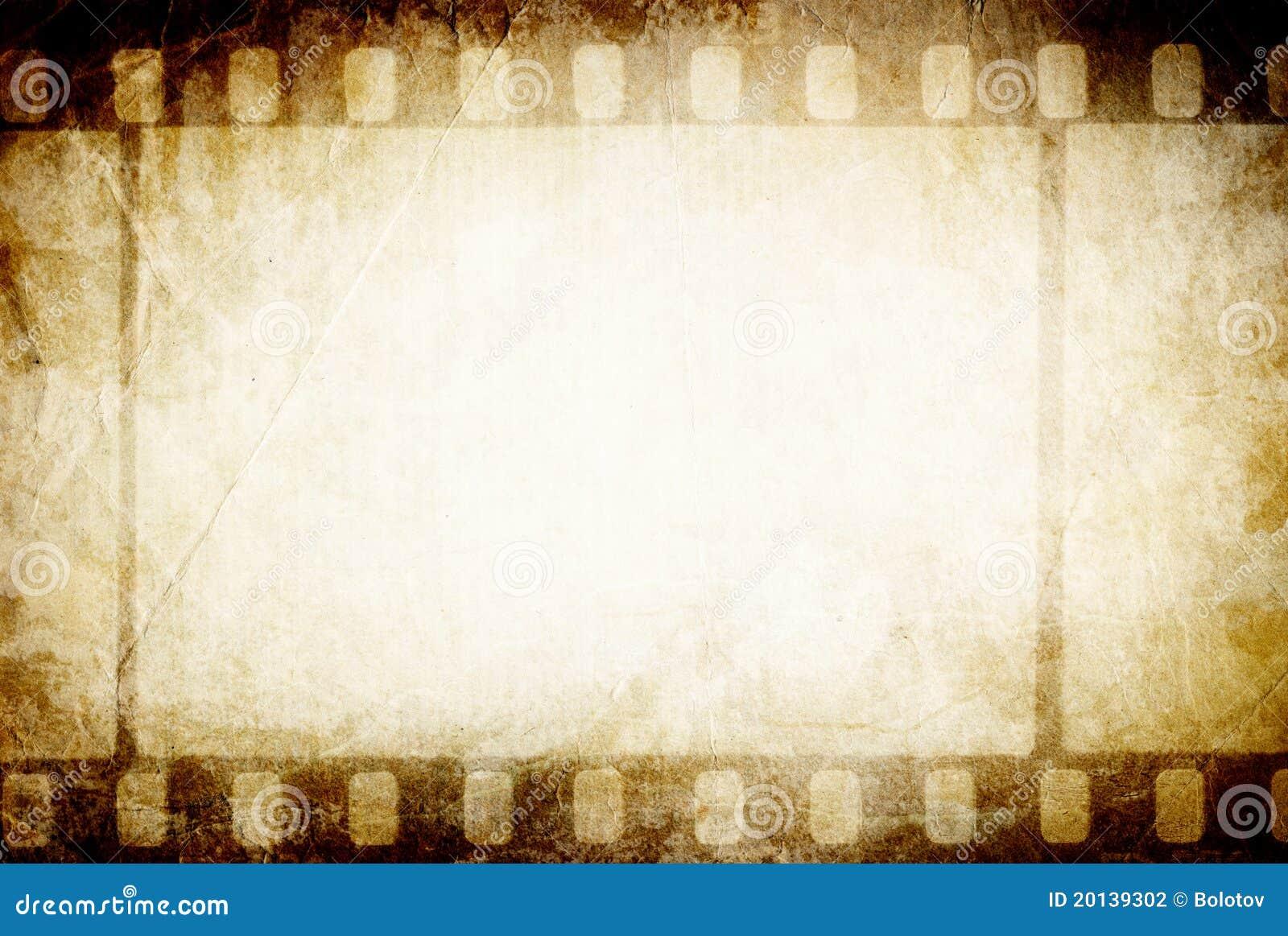Gammal filmstrip