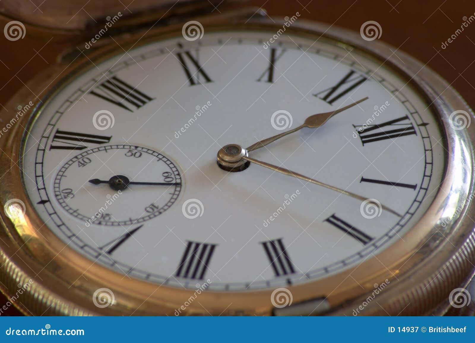 Gammal fobwatch